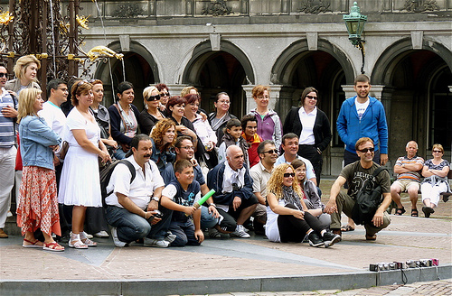 Tourist Group Photo